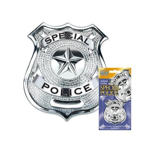 Police Badge Costume Accessory