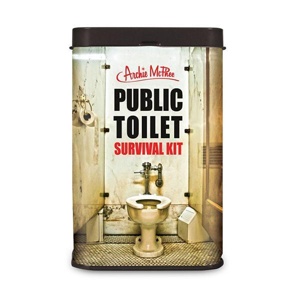 Public Toilet Survival Kit by Archie McPhee - Shop GagWorks.com