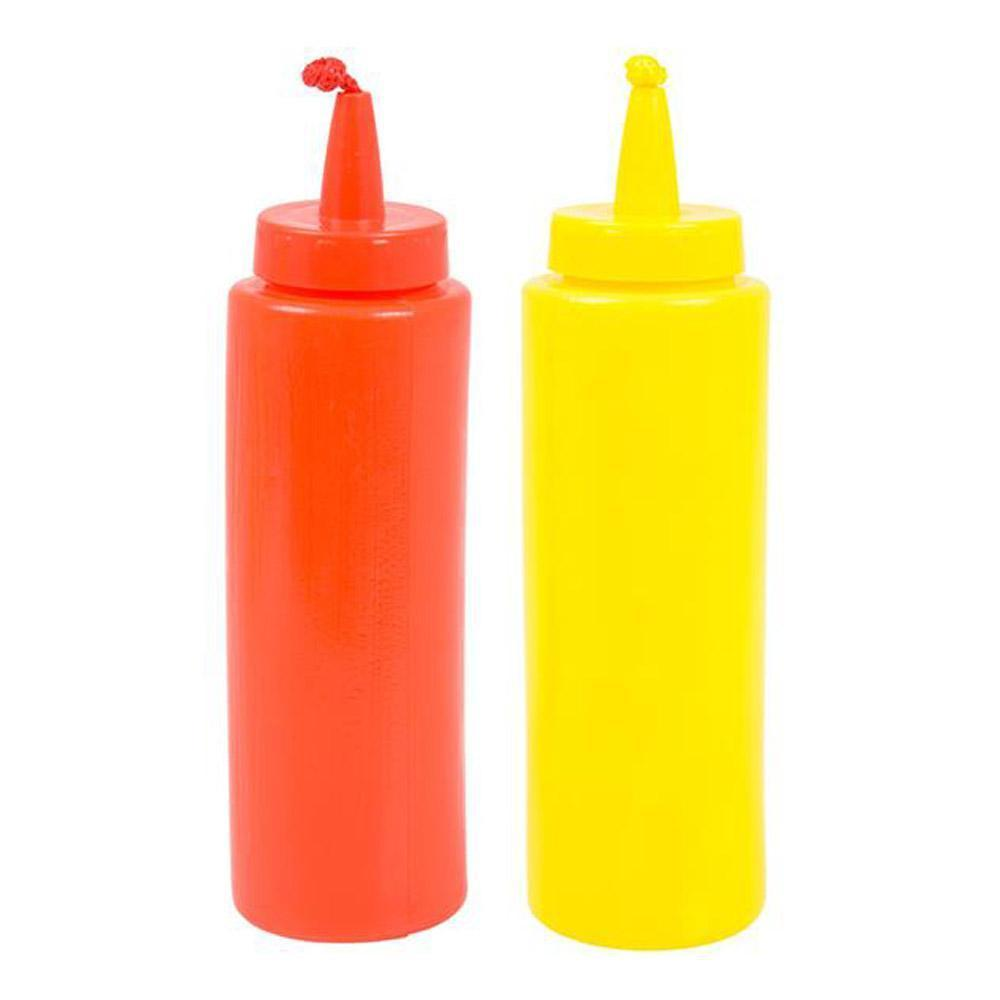 Squirting Combo Set - Mustard and Ketchup Bottles by Rinco - Shop GagWorks.com