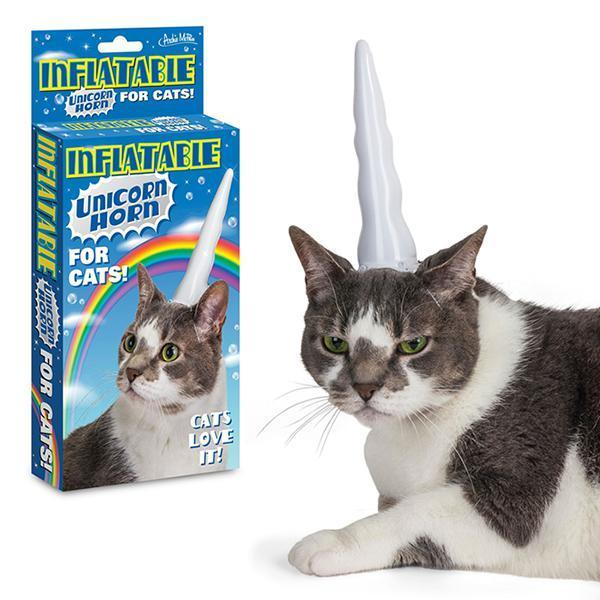 Unicorn Cat - Inflatable Horn by Archie McPhee - Shop GagWorks.com