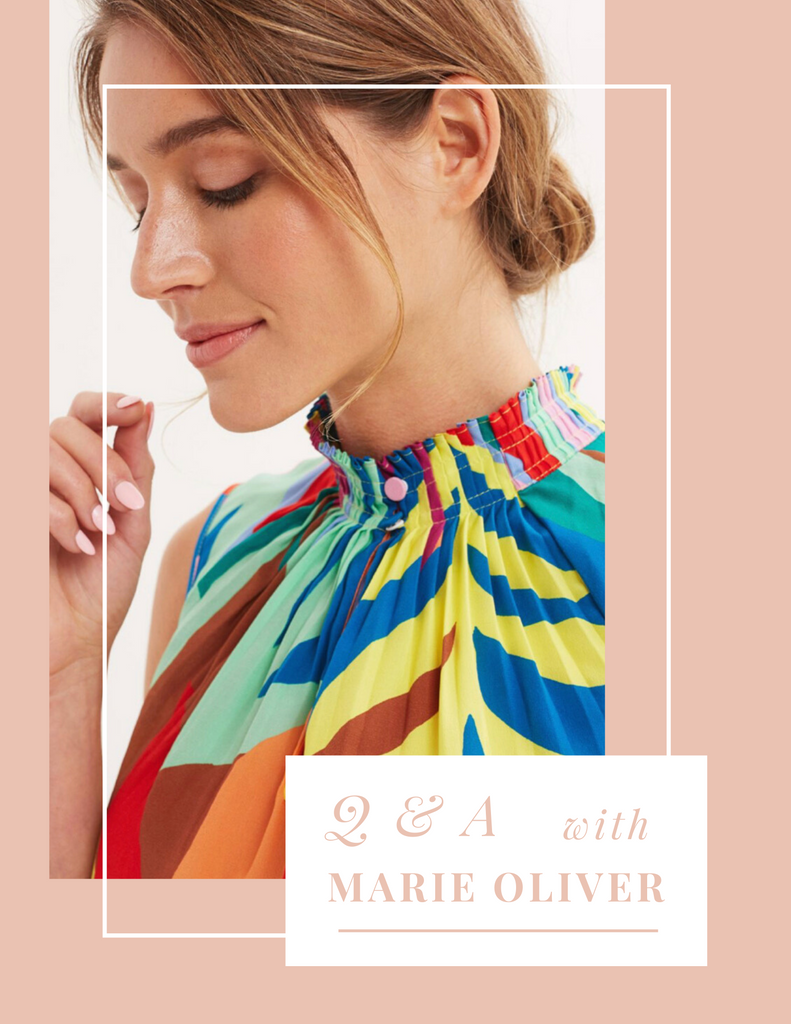 Q&A with Marie Oliver