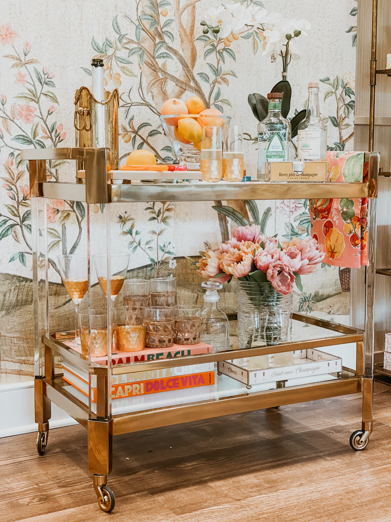 How to Build A Bar Cart