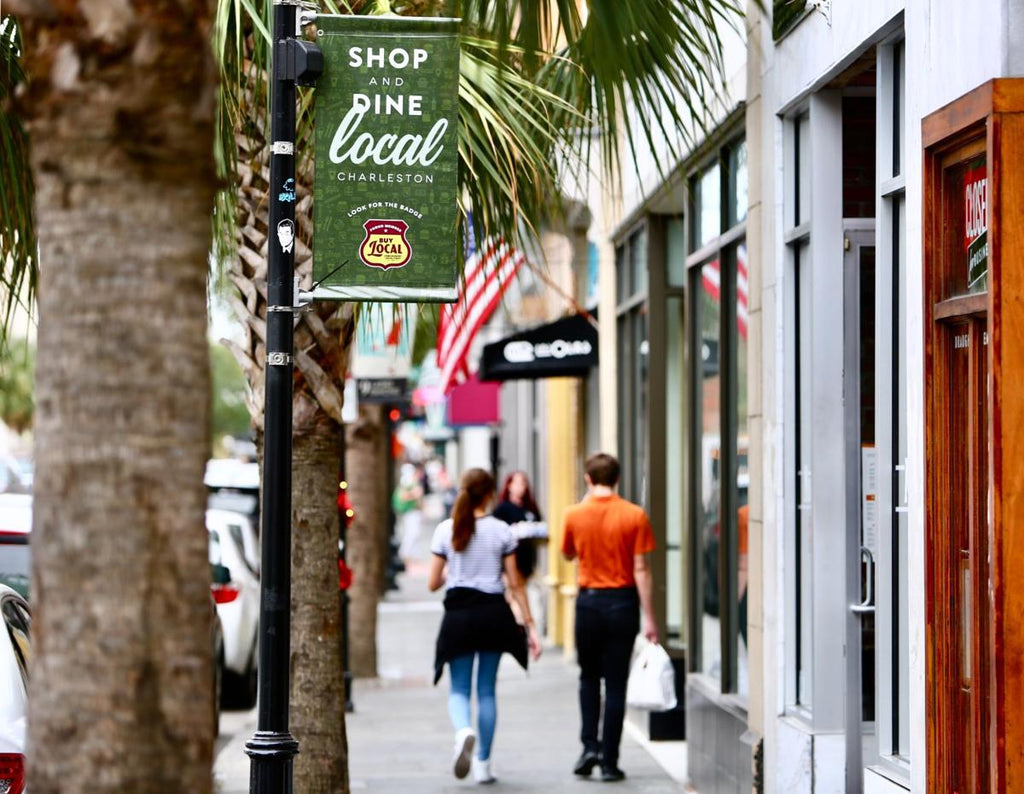 Charleston is a top 10 US city for shopping local, according to new study
