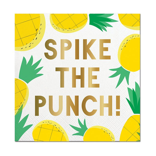 Spike the Punch Napkin