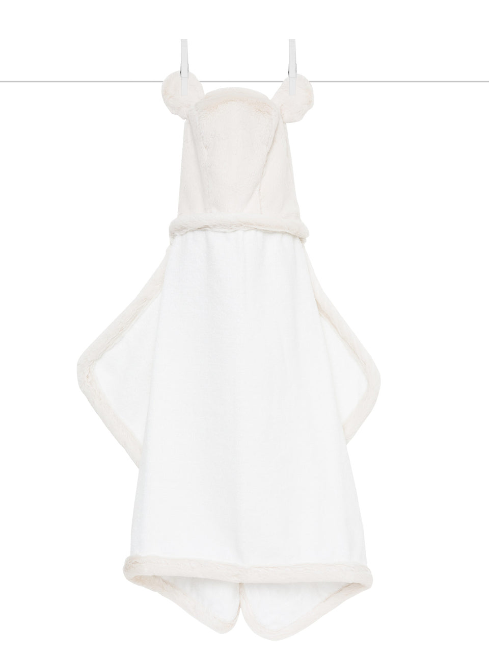 Luxe Baby Towel - Cream