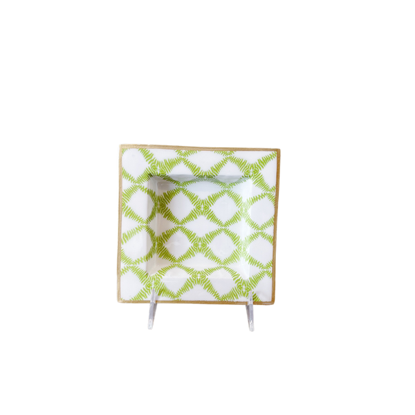 Red and Green Pinecone Pillow