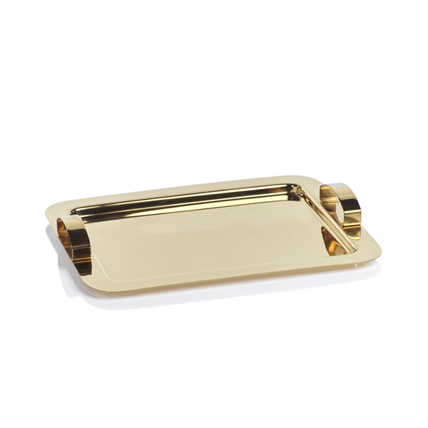 Stainless Steel Gold Tray