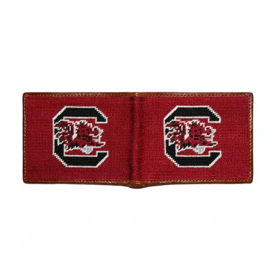 University of South Carolina Needlepoint Wallet