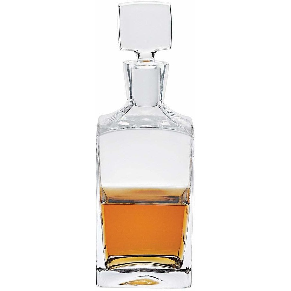 Square Crystal Spirit Decanter