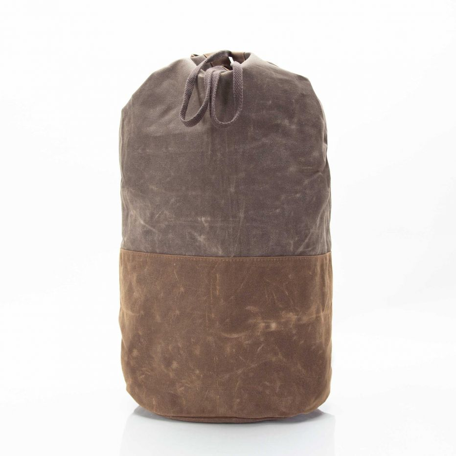 Waxed Canvas Laundry Duffle