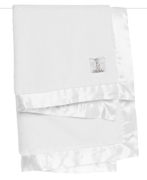 Luxe Baby Blanket - White