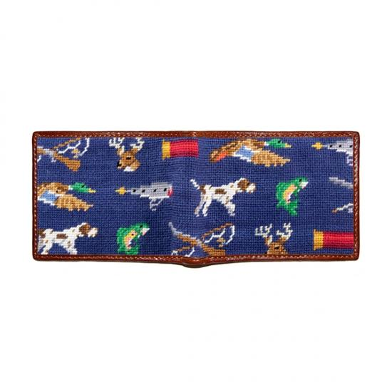 Southern Sportsman Needlepoint Wallet
