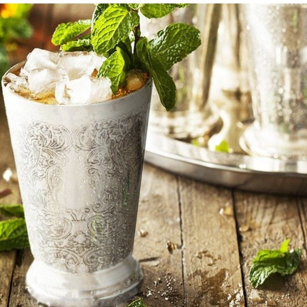 Engraved Mint Julep Cup