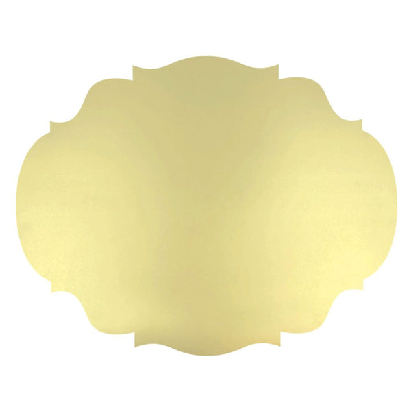Dye Cut Gold French Frame Placemat
