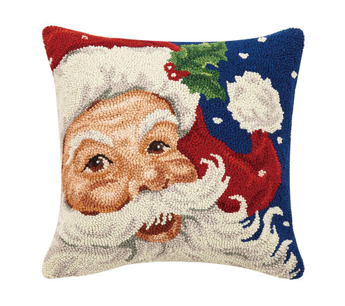 Hook Pillow - Santa
