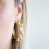 Jamie Hoop Earrings - Medium