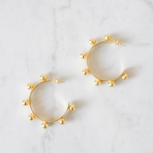 Jamie Hoop Earrings - Small