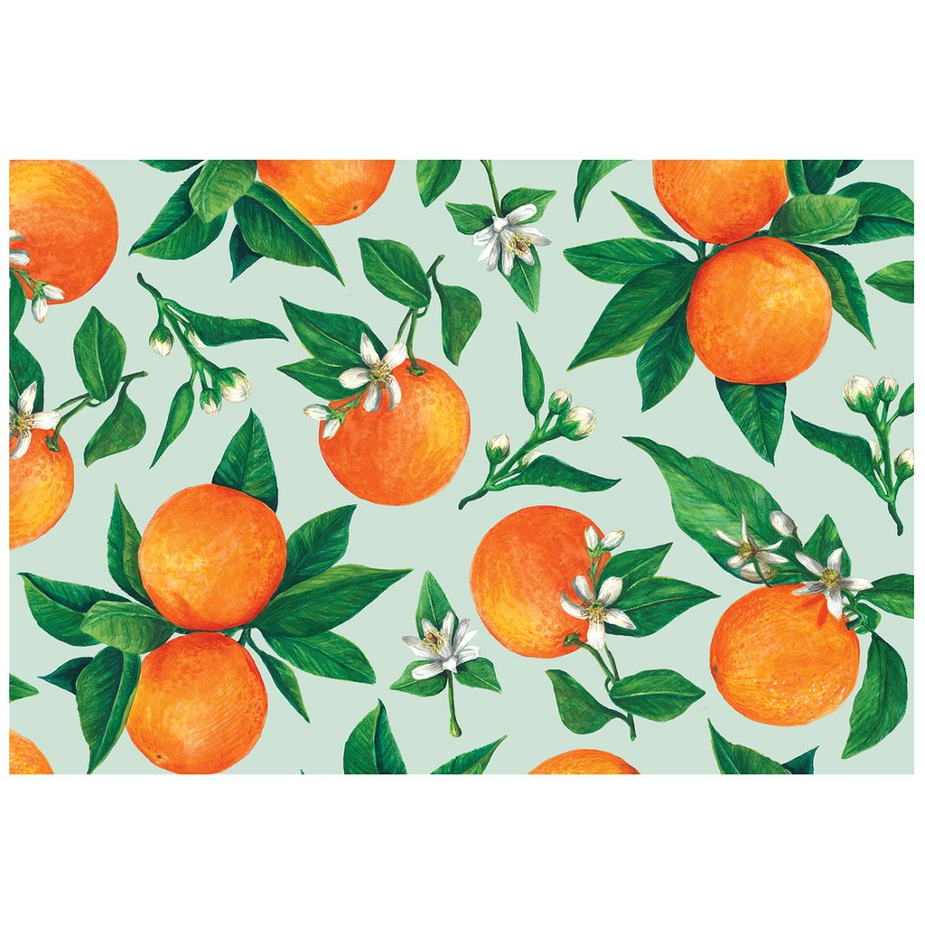 Orange Orchard Placemats