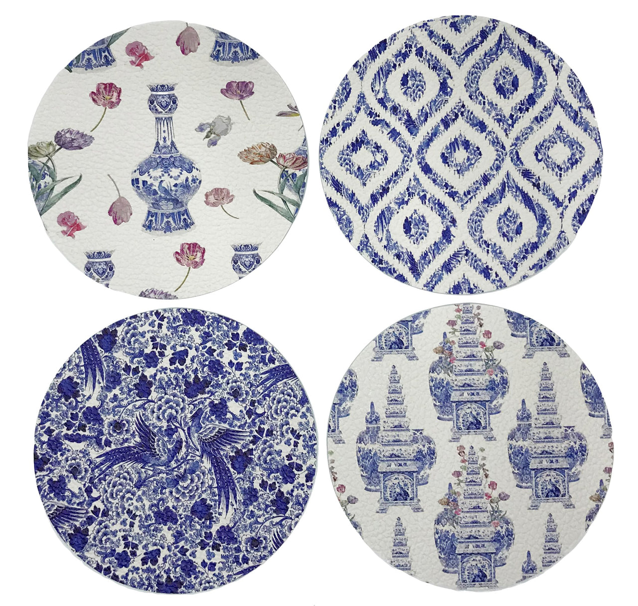 Royal Delft Coaster Set