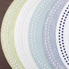 Pearls Easy Care Placemat - Beige/White