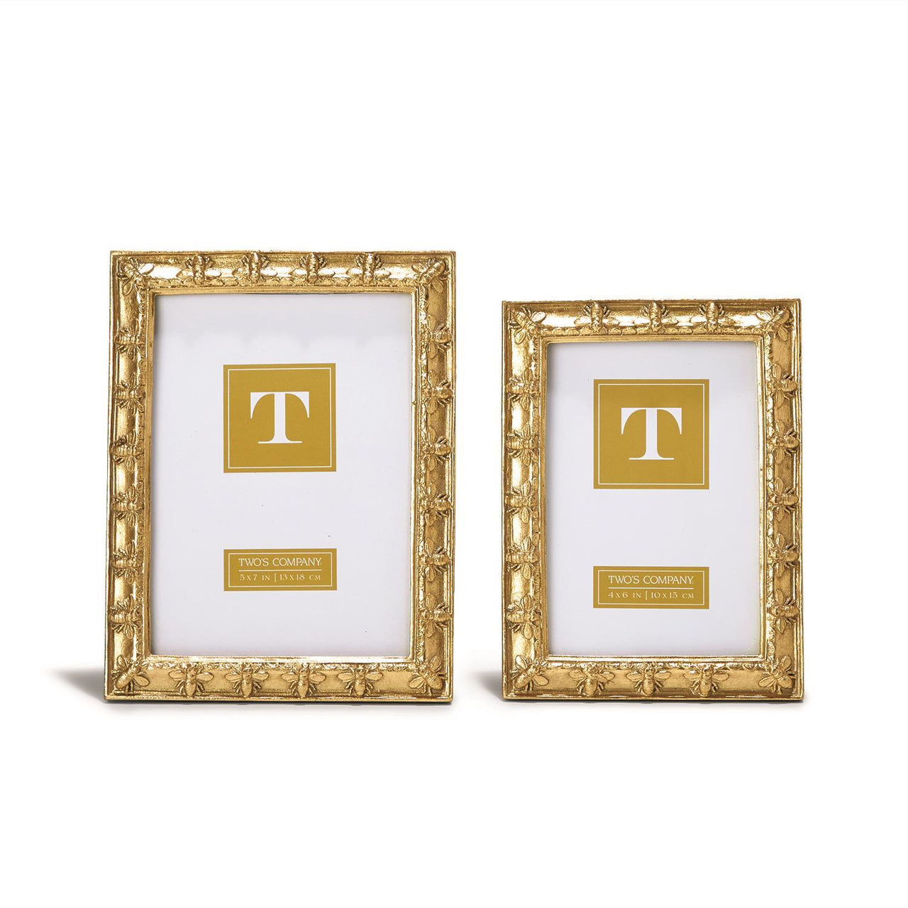 Golden Bee Picture Frame