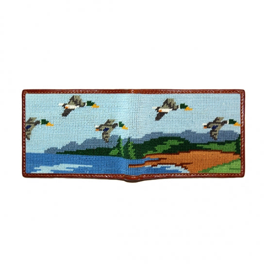 Great Outdoors Needlepoint Wallet