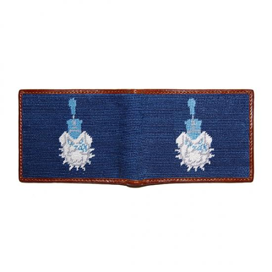 Citadel Needlepoint Wallet