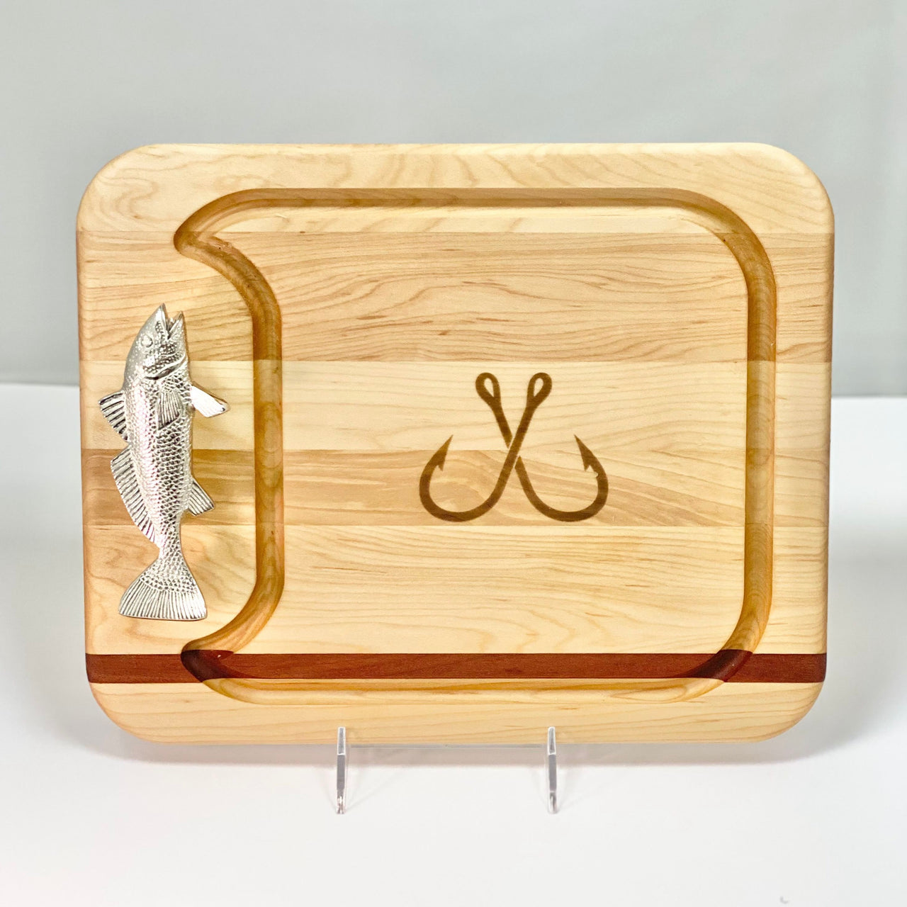 Fish Handle Cutting Board