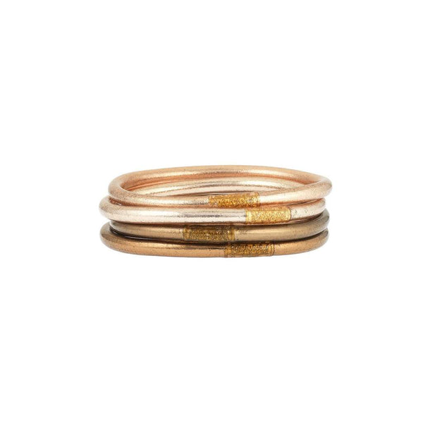 All Weather Bangles - Fawn Set of 4