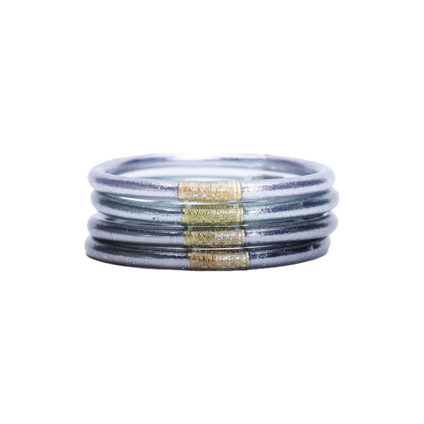 All Weather Bangles - Moon Set of 4