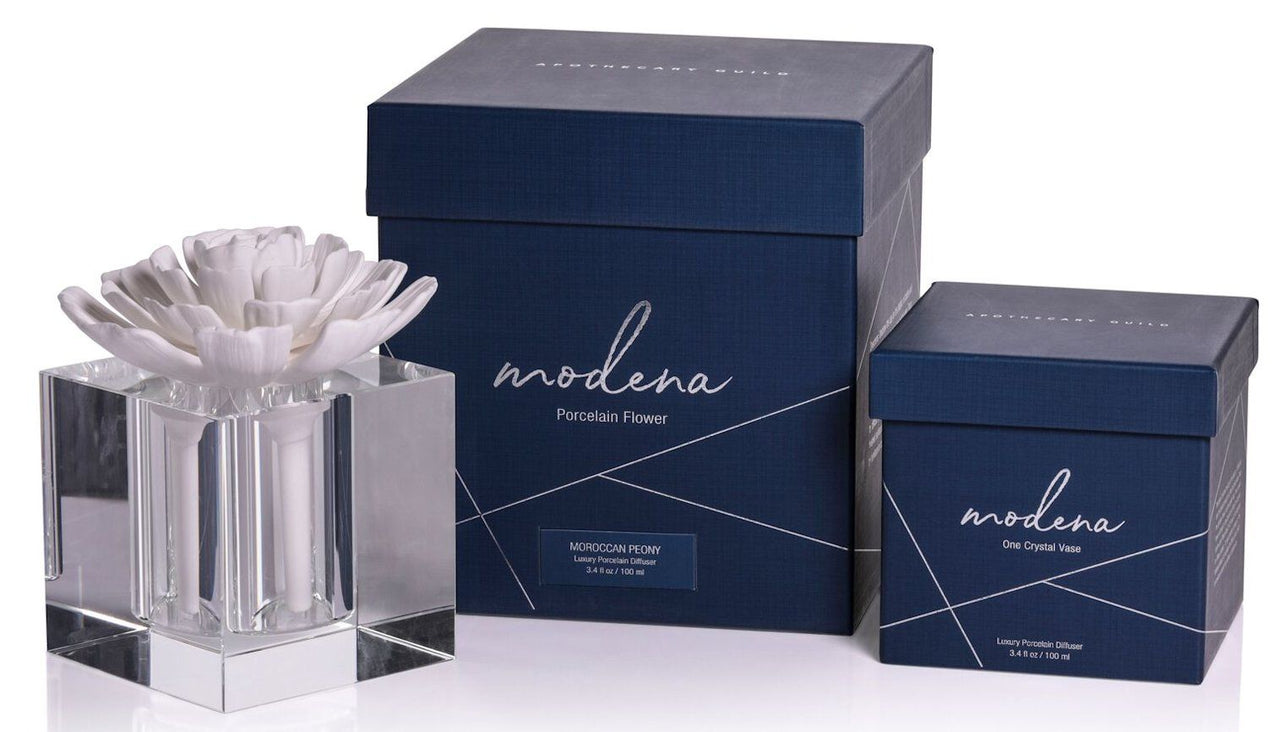Large Modena Porcelain Diffuser - Morroccan Peony