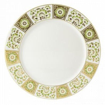 Darley Panel Green Dinner Plate