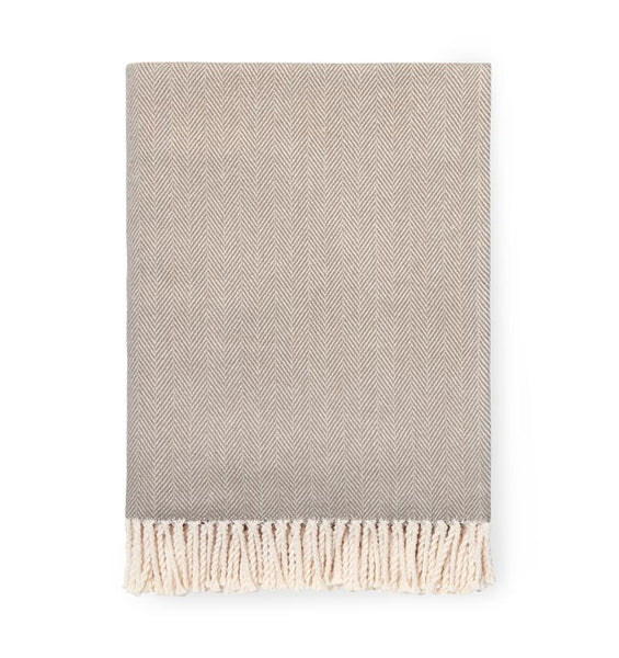 Taupe Celine Throw