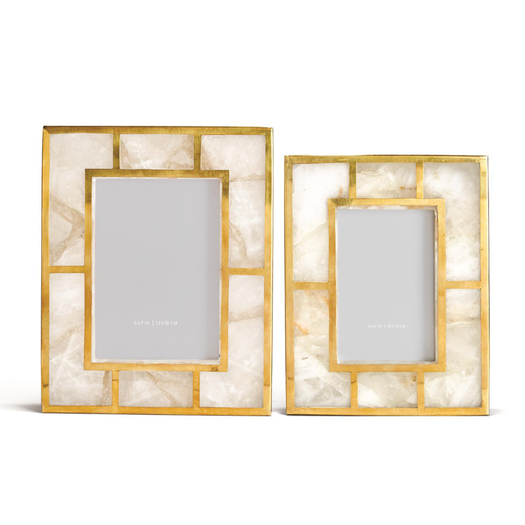 White Quartz Picture Frame