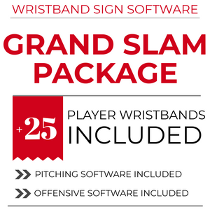 Own The Zone Sports - The Original and #1 Pick Proof Wristband Sign Software & Wristbands as Used by the MLB and NCAA Levels