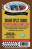 Bison Split Shin Bone