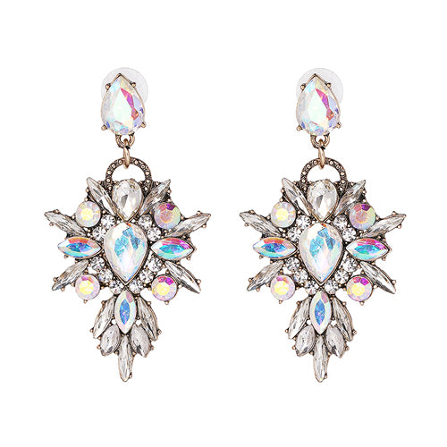 Only Star in My Sky Crystal Pendant Earrings