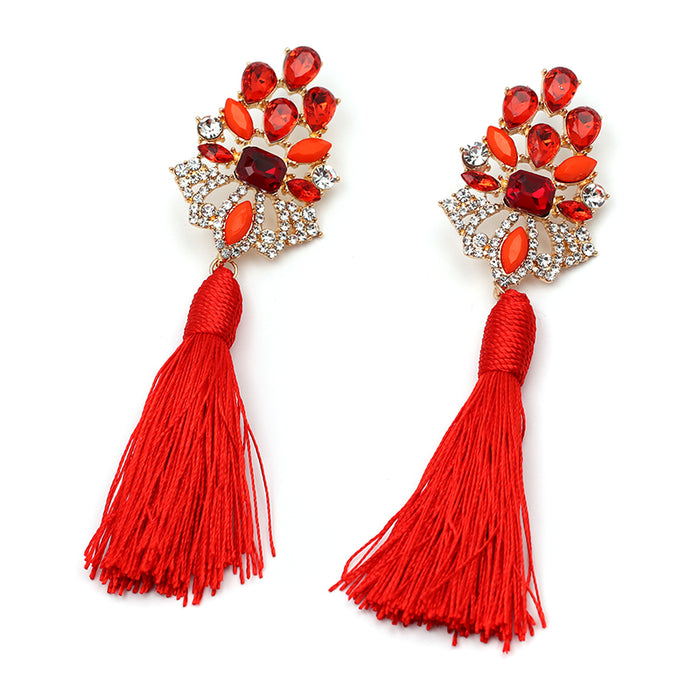 Ariana Tassel Variety Earrings