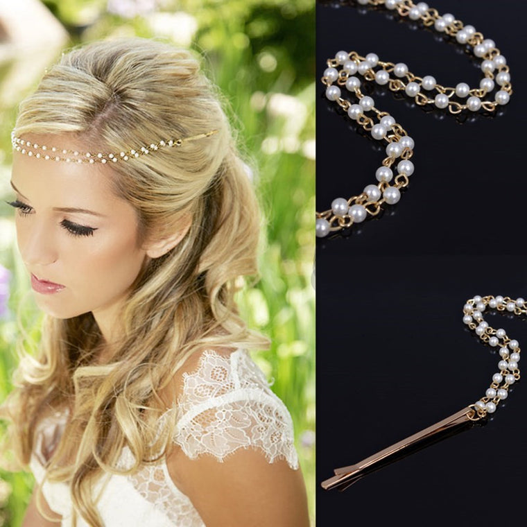 Delicate Beauty Pearl Headband