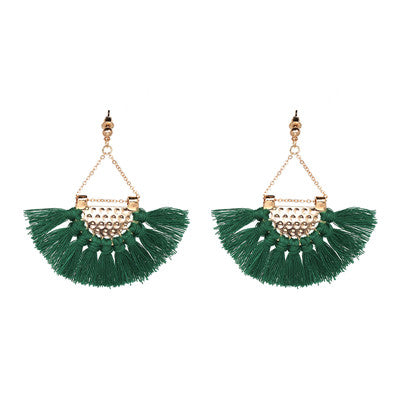 Pretty Forever Tassel Earrings
