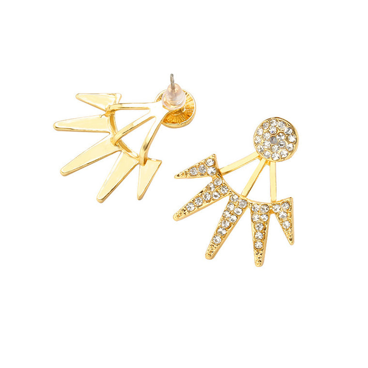 Miss Unconventional Statement Stud Earrings