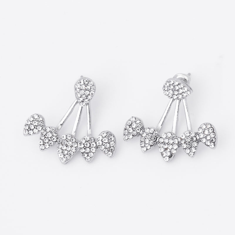 Miss Sparkle Crystal Stud Earrings