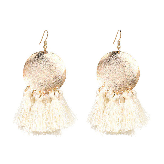 Boho Inspiration Pretty Tassel Earrings