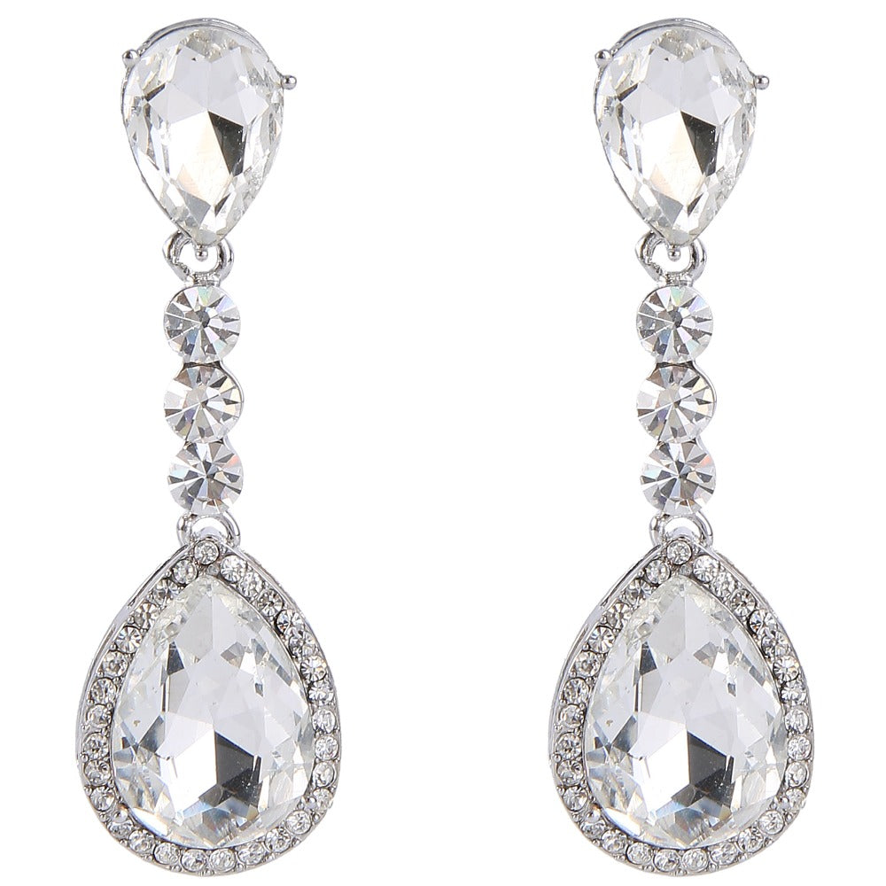 Worlds Apart Signature Tear Drop Earrings