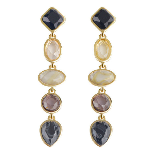 Geo Reality Antique Earrings