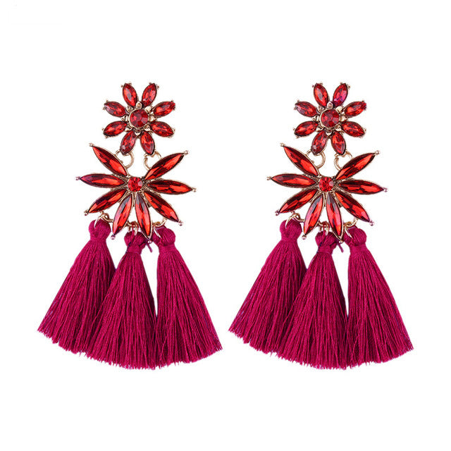 Venus' Beauty Tassel Earrings