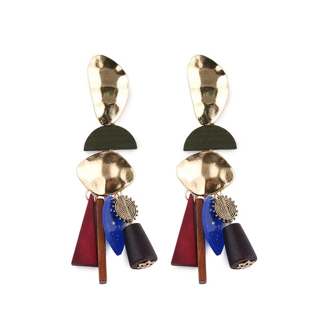 The Art of Autonomy Geometric Earrings