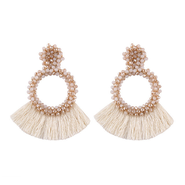 Brazen Goddess Tassel Earrings