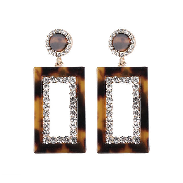 Diva Box Earrings