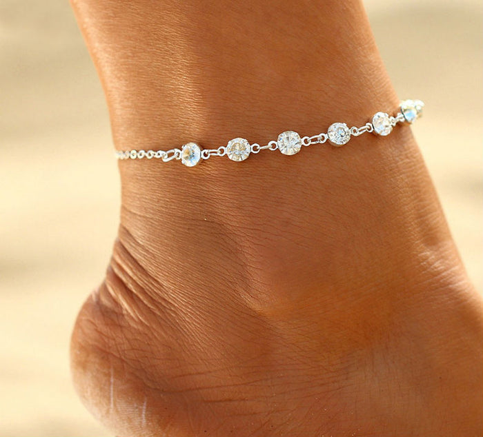 Shine on My Parade Ankle Bracelet
